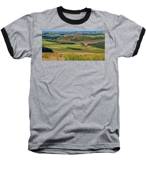Scotland View From The English Borders Baseball T-Shirt by Jeremy Lavender Photography