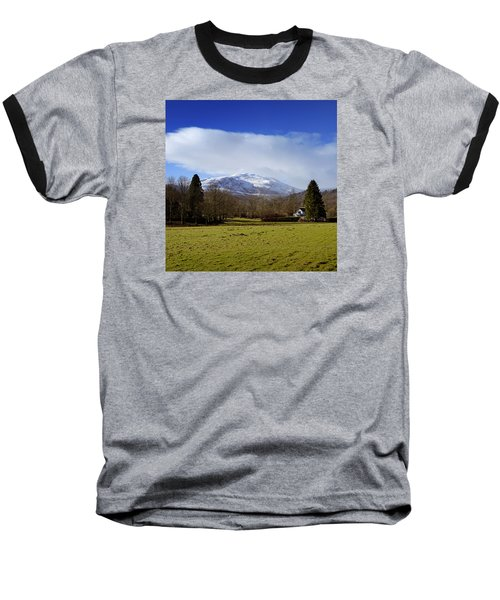 Baseball T-Shirt featuring the photograph Scottish Scenery by Jeremy Lavender Photography