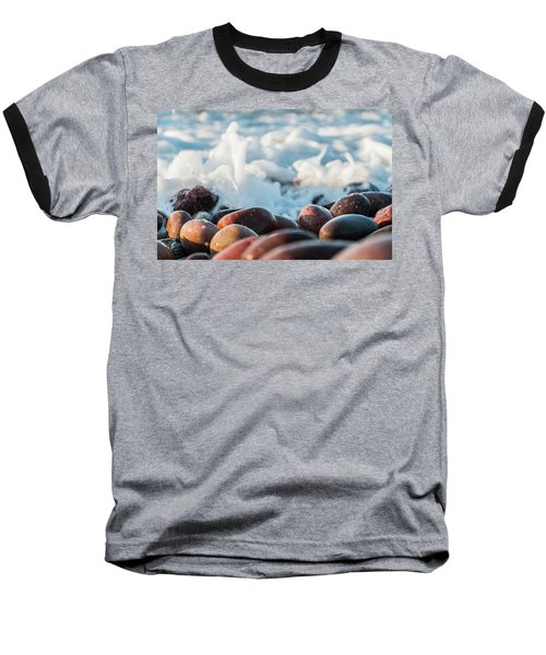 Baseball T-Shirt featuring the photograph Sea As Art... by Sergey Simanovsky