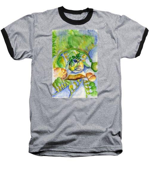 Sea Turtle Hideaway Baseball T-Shirt