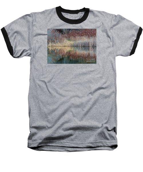 Baseball T-Shirt featuring the photograph Seasons Edge by Christian Mattison