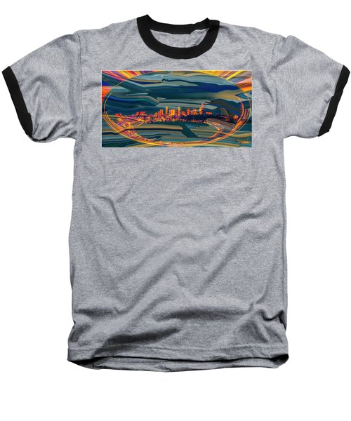 Seattle Swirl Baseball T-Shirt