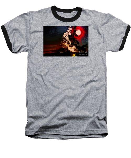 Sechelt Tree Baseball T-Shirt by Elaine Hunter