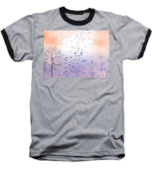 Seekers Baseball T-Shirt by Trilby Cole