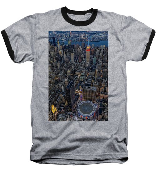September 11 Nyc Tribute Baseball T-Shirt