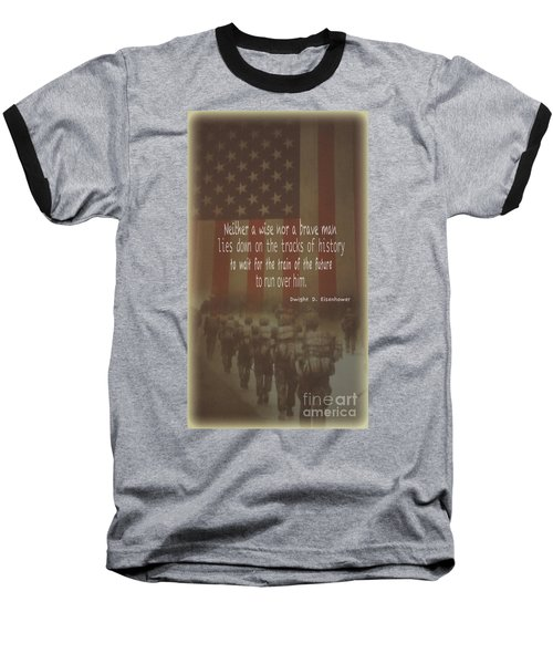 Baseball T-Shirt featuring the photograph Serving Our Country by Debby Pueschel