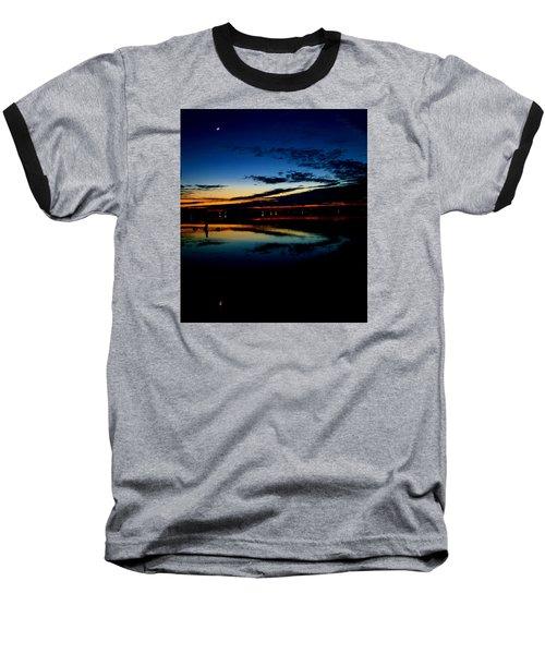Shades Of Calm Baseball T-Shirt by William Bartholomew