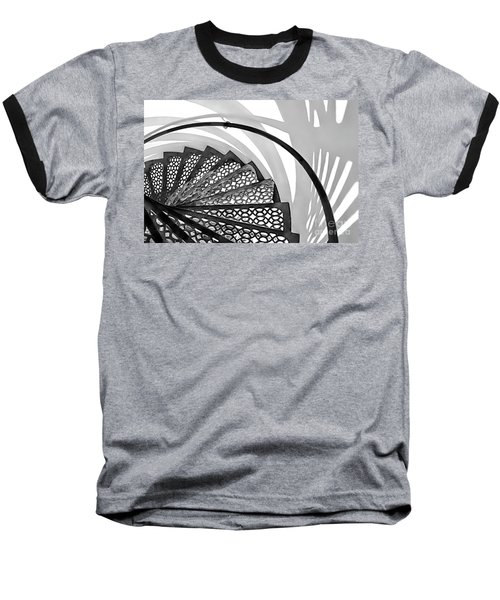 Shadow Lines Baseball T-Shirt