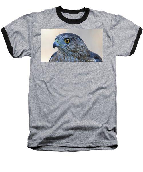 Sharp-shinned Hawk Baseball T-Shirt