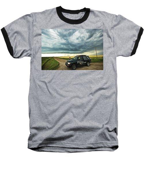 Shelf Cloud Near Vibank Sk. Baseball T-Shirt