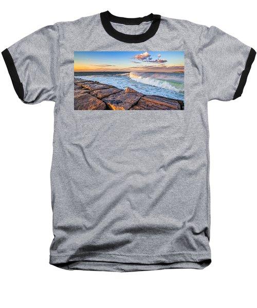 Shinnecock Inlet Surf Baseball T-Shirt
