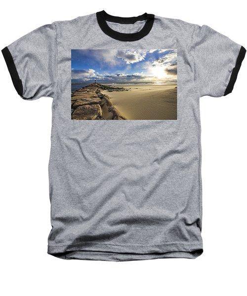Shinnecock Sand Drift Baseball T-Shirt