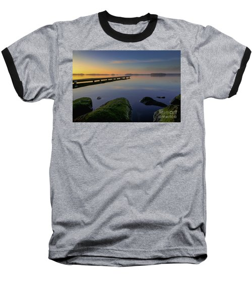 Silence Lake Baseball T-Shirt
