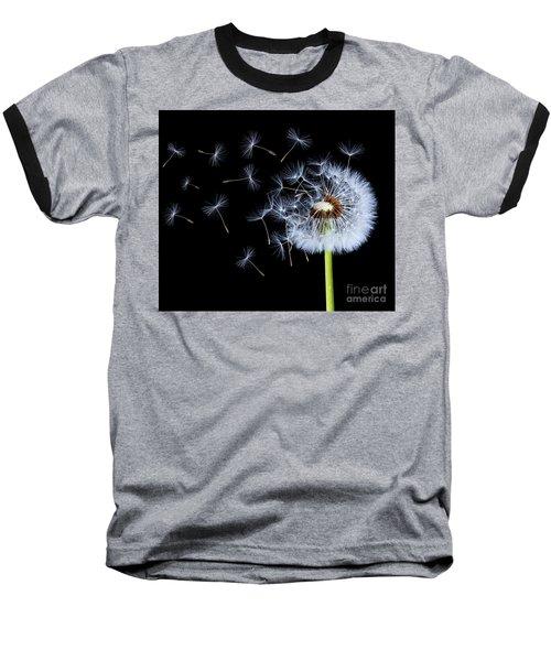 Silhouettes Of Dandelions Baseball T-Shirt