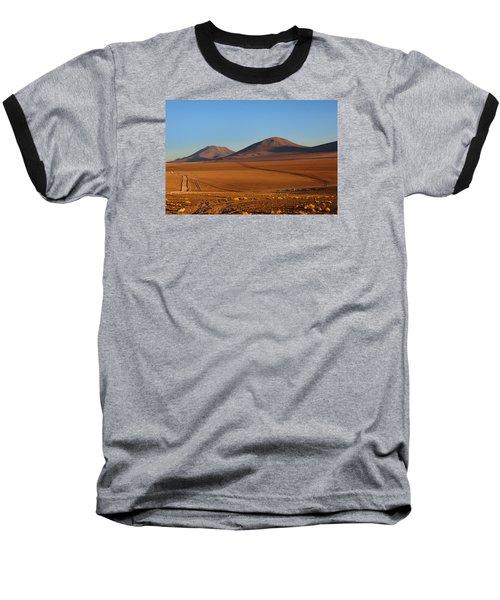 Siloli Desert Baseball T-Shirt by Aivar Mikko