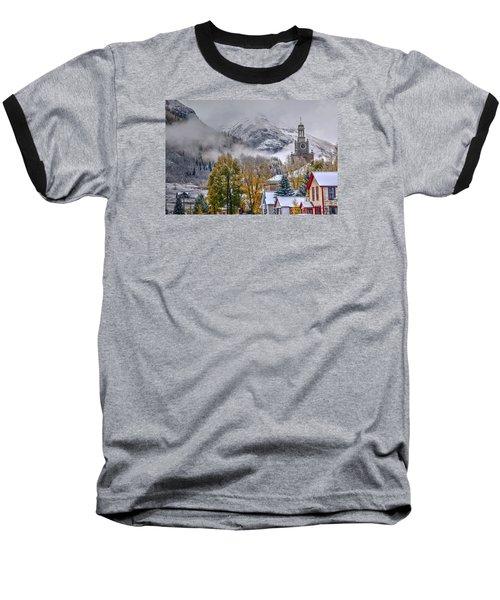 Silverton Colorado Baseball T-Shirt by Charlotte Schafer