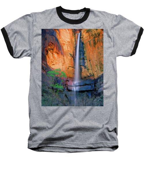Sinawava Falls Baseball T-Shirt