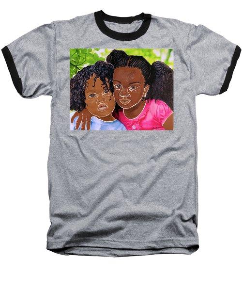 My Little Sister Baseball T-Shirt