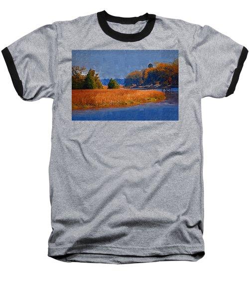Sitting On The Dock Baseball T-Shirt