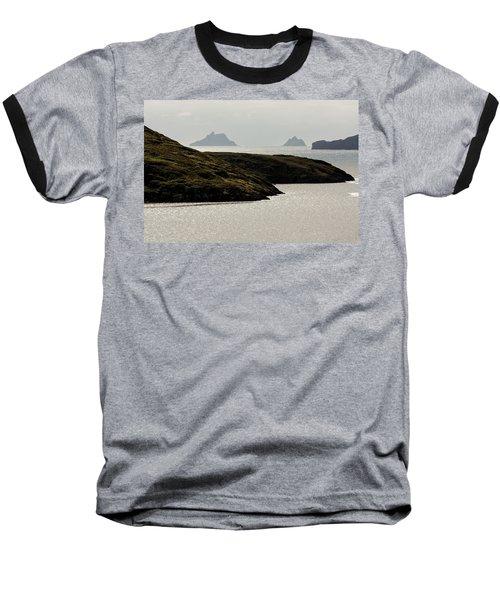 Skellig Islands, County Kerry, Ireland Baseball T-Shirt