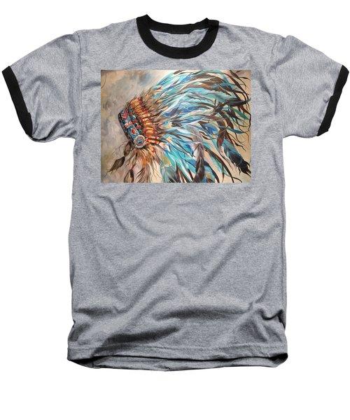 Sky Feather Baseball T-Shirt