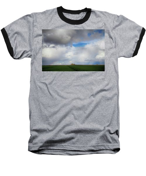 Skyward Baseball T-Shirt by Laurie Search