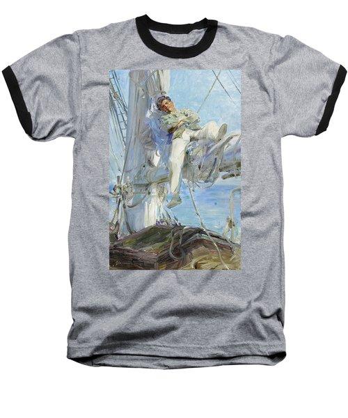 Sleeping Sailor Baseball T-Shirt