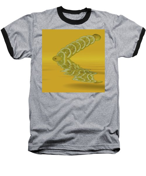 Baseball T-Shirt featuring the photograph Slices Lemon Citrus Fruit by David French