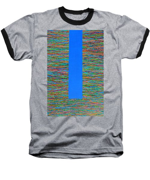 Baseball T-Shirt featuring the painting Small Door by Kyung Hee Hogg