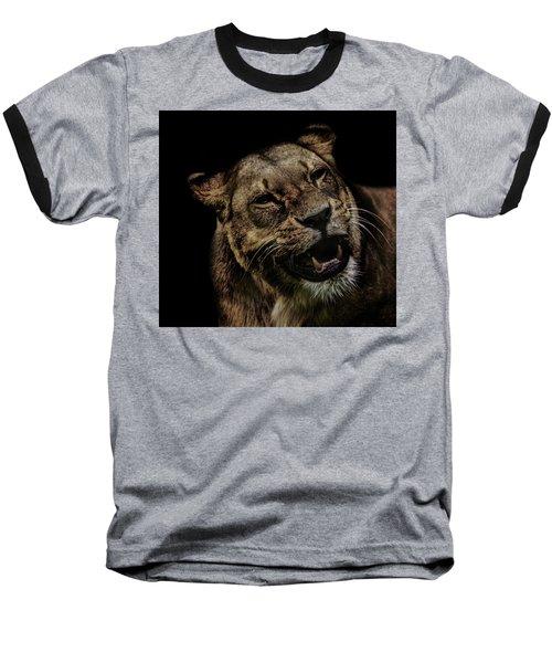 Orangutan Smile Baseball T-Shirt by Martin Newman