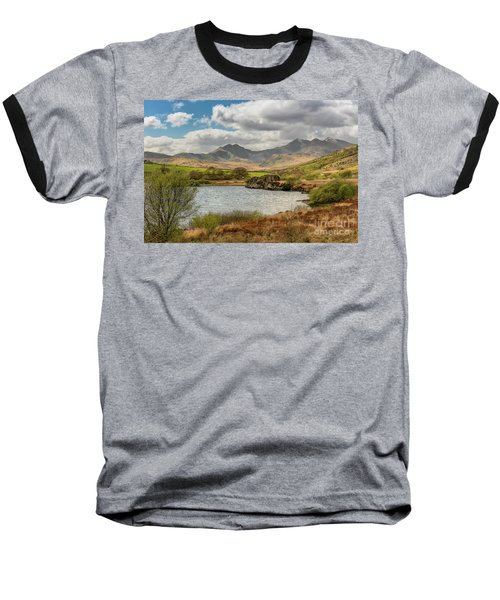 Baseball T-Shirt featuring the photograph Snowdon Horseshoe by Adrian Evans