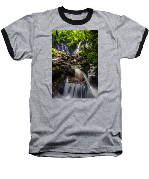 Baseball T-Shirt featuring the photograph Soco Falls by Serge Skiba