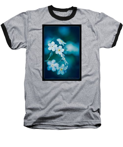 Baseball T-Shirt featuring the photograph Soft Blue by Michaela Preston