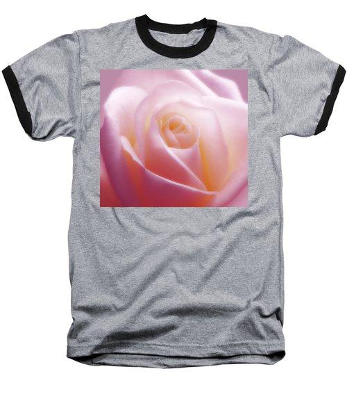 Soft Nostalgic Rose Baseball T-Shirt