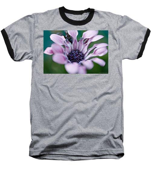 Soft Purple Baseball T-Shirt by Michaela Preston