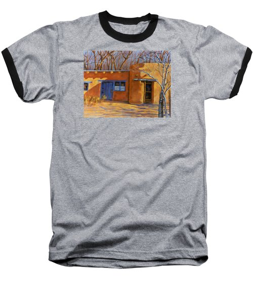 Baseball T-Shirt featuring the painting Sol Y Sombre by Ann Peck