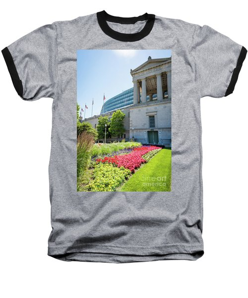 Soldier Field Baseball T-Shirt