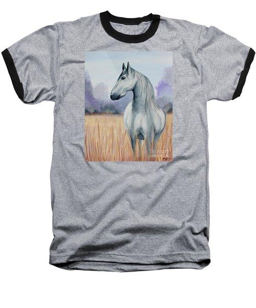 Solemn Spirit Baseball T-Shirt by Stacey Zimmerman