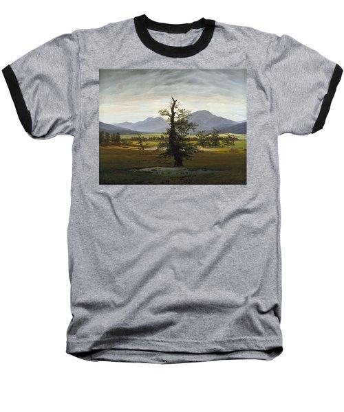 Solitary Tree Baseball T-Shirt