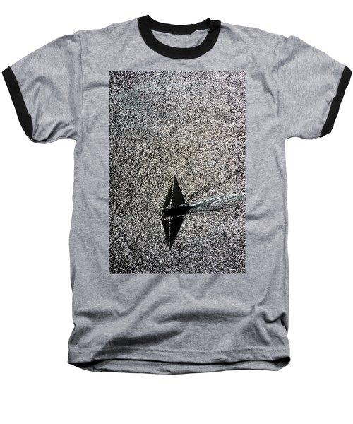 Sailing Into Solitude Baseball T-Shirt