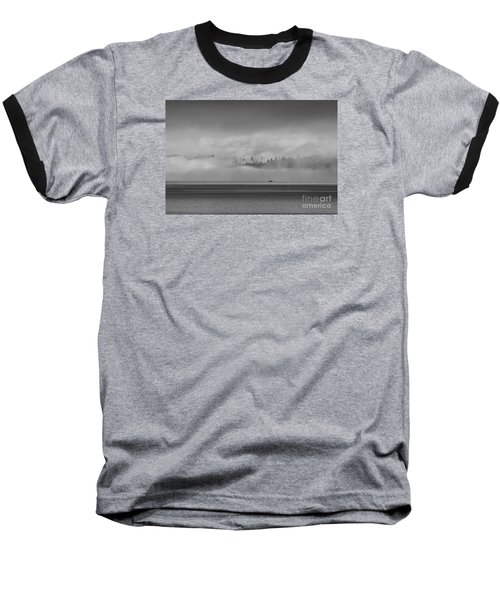 Solitude Baseball T-Shirt by Sean Griffin