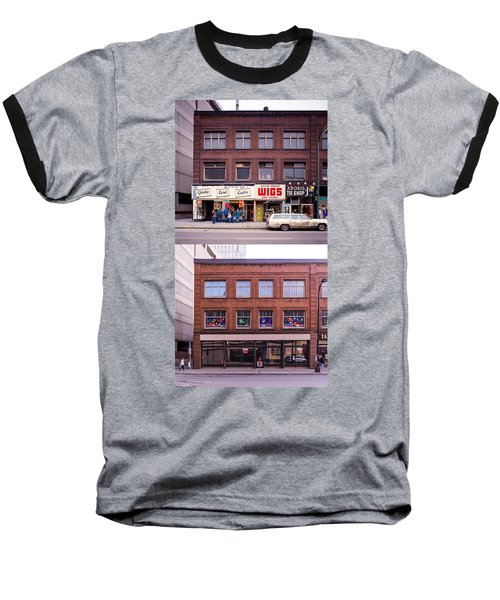 Something's Going On At The Greeting Card Center. Baseball T-Shirt