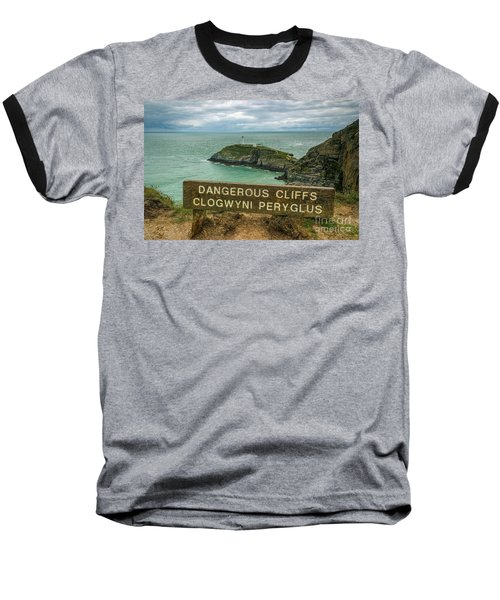 South Stack Lighthouse Baseball T-Shirt