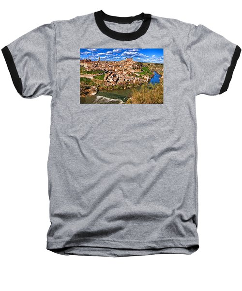 Baseball T-Shirt featuring the photograph Spanish Toledo by Dennis Cox WorldViews