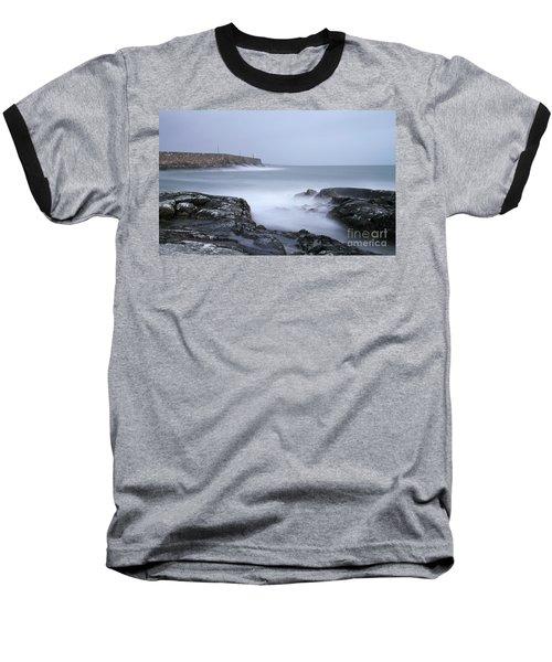 Spiddal Pier Baseball T-Shirt