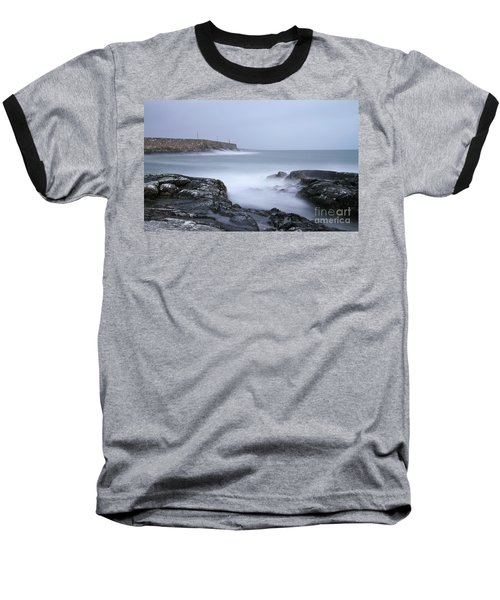 Spiddal Pier Baseball T-Shirt