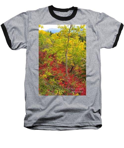 Splash Of Autumn Baseball T-Shirt