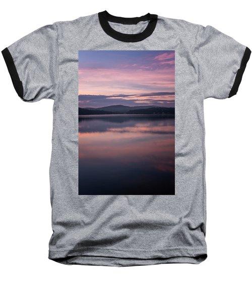 Spofford Lake Sunrise Baseball T-Shirt