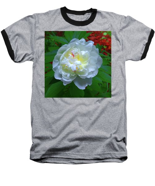 Spring Peony Baseball T-Shirt