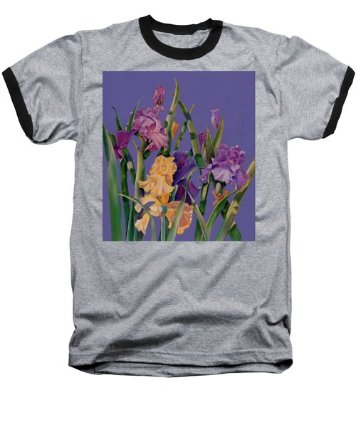 Baseball T-Shirt featuring the pastel Spring Recital by Ann Peck
